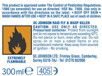 Paint Can Warning Label
