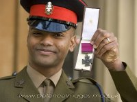 The Victoria Cross - the highest military award for valour - is made from recycled bronze. - victoria-cross